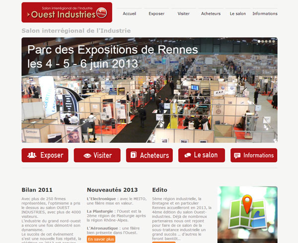 Ouest industries for Salon ouest industrie